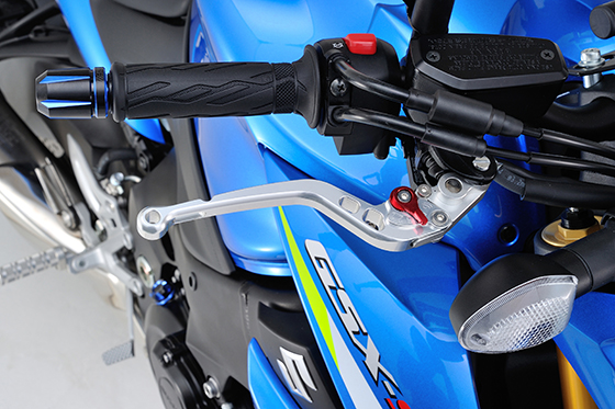 GSX-S1000ブレーキレバー