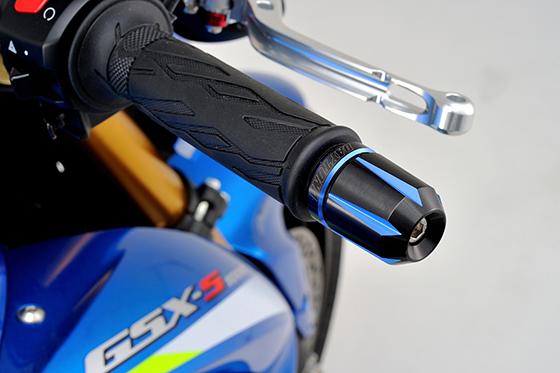 GSX-S1000ハンドルバーエンド