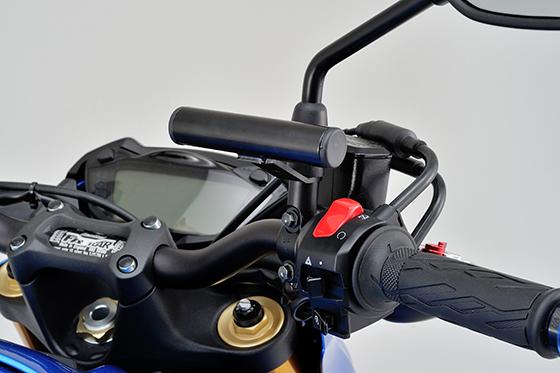 GSX-S1000ハンドルマウントホルダー