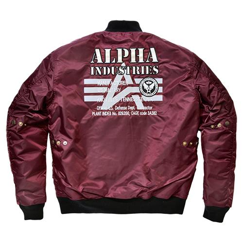 Alpha industries(アルファインダストリー)MA-1