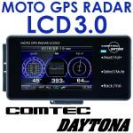 本命登場!コムテック×デイトナ MOTO GPS バイク用 レーダー LCD 3.0