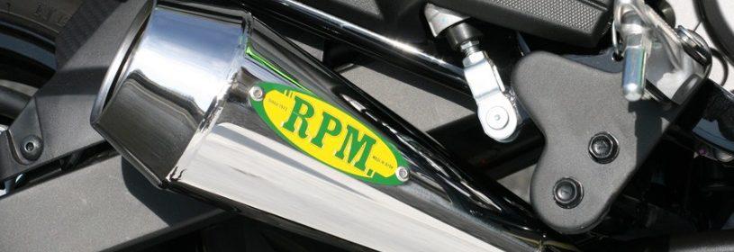Z125PRO RPM ショートマフラー(政府認証)