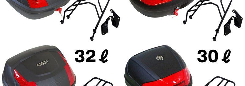 YZF-R25 / YZF-R3 / MT-25 / MT-03 リアキャリア/ボックスセット WORLD WALK