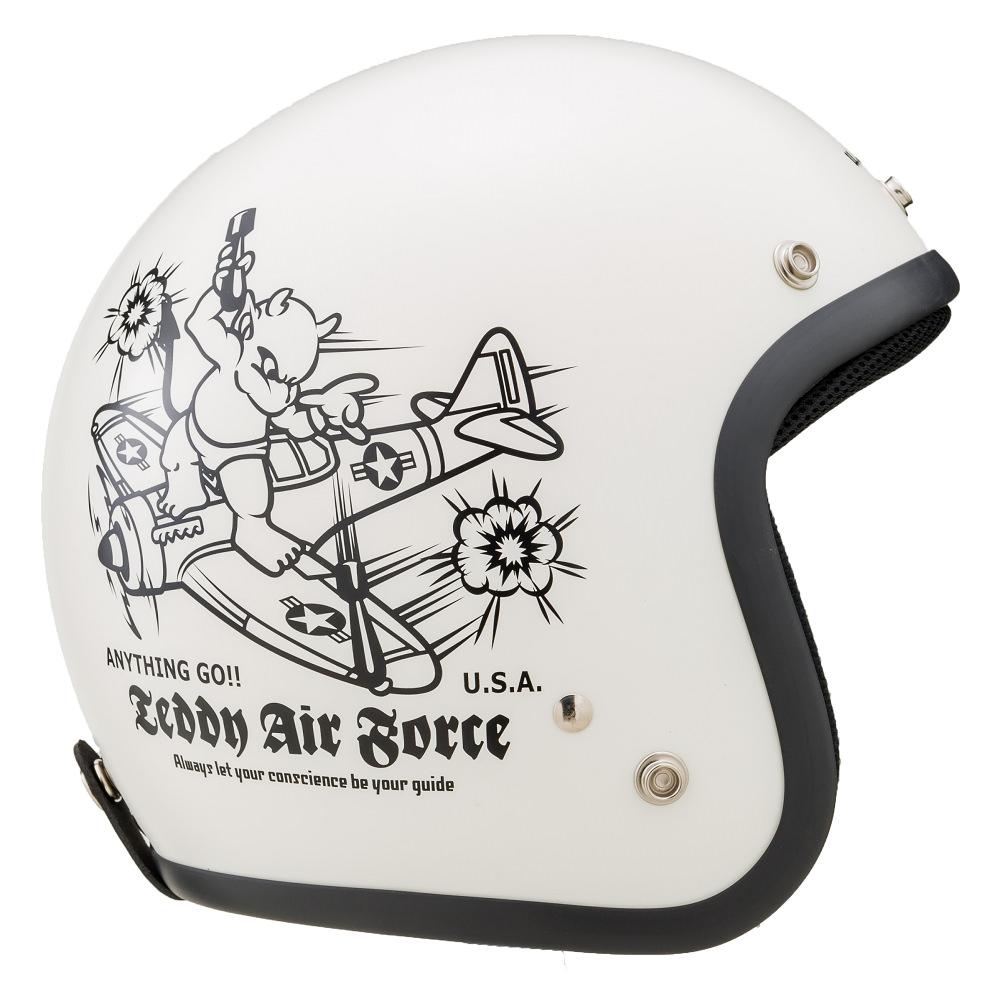 TMH-13 TEDMANS(テッドマン) AIR FORCE (ジェットヘルメット) 山城(YAMASHIRO)
