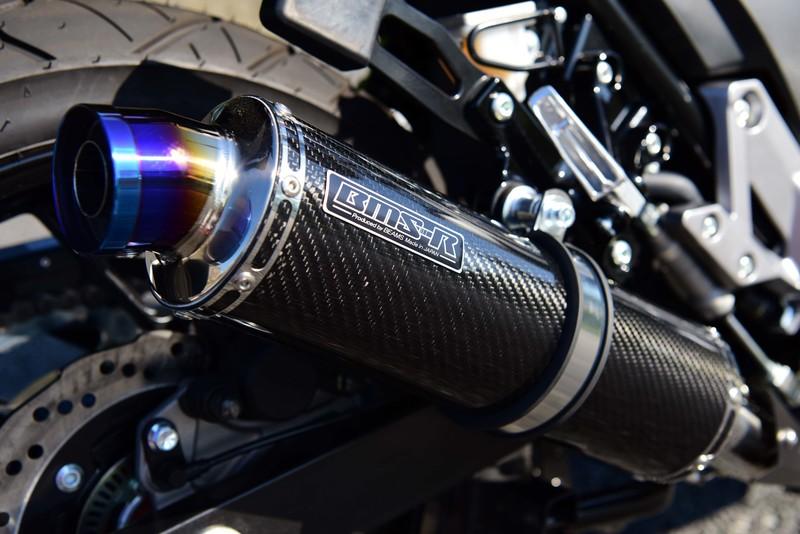 R-EVOカーボン スリップオンマフラー 政府認証 BMS-R(ビームス) Vストローム250(V-Strom250)