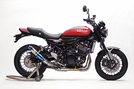 カワサキ Z900RS K-FACTORY(ケイファクトリー) STPスリップオン/MotoGP ラウンドサイレンサー JMCA認証