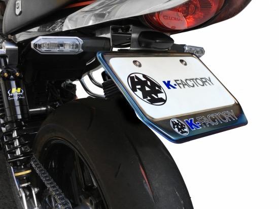 カワサキ Z900RS K-FACTORY(ケイファクトリー) フェンダーレスキット ブラック塗装