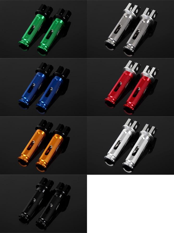 カワサキ Z900RS SSK(エスエスケー) アルミ削り出しタンデムステップ レーシングタイプ