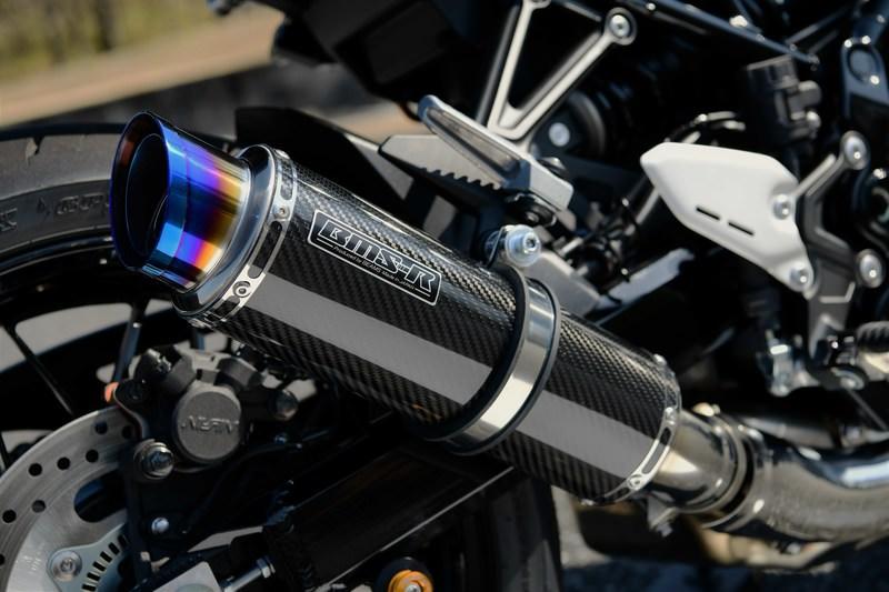 R-EVO2 スリップオンマフラー カーボンサイレンサー 政府認証